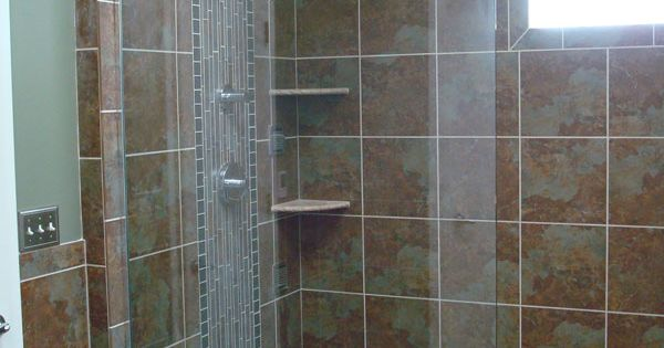 Walk In Showers Without Doors An Existing 3x3 Shower And 5 Tub To Creat