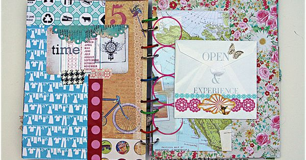 Smash book - DIY planner or scrapbook idea