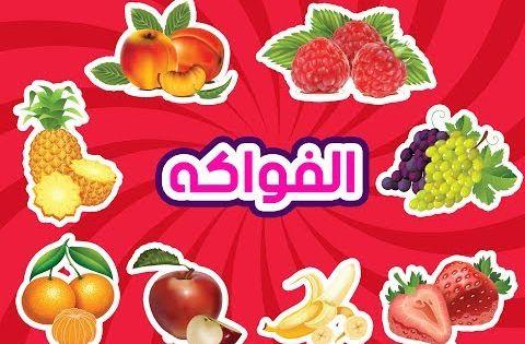 تعليم اسماء الفواكه للاطفال بالعربي تعليم النطق Youtube Arabic Kids Stories For Kids Kids