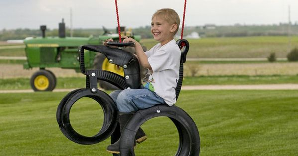 tire tractor swing this is awesome