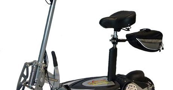 Super Turbo 1000 Lithium Electric Scooter Silver By