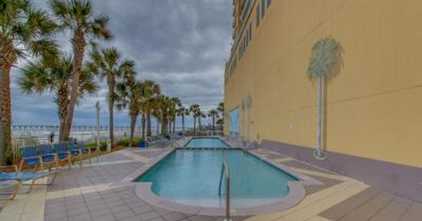 Experience Tranquility By The Sea In This Lovely Two Bedroom Two Bathroom Panama City Beach Oceanfront Condo Panama City Beach Vacation Beach Vacation Rentals