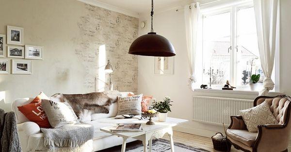 vintage-look-wohnzimmer-möbel-shabby-chic | Wohnzimmer | Pinterest ...