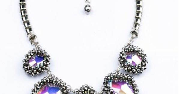 celebrity studded crystal necklace seen on kyle richards