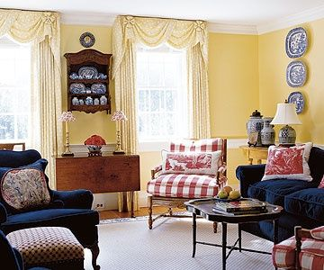 Decorating With Yellow Walls Accessories And Accents Yellow Walls Living Room Yellow Living Room Living Room Red