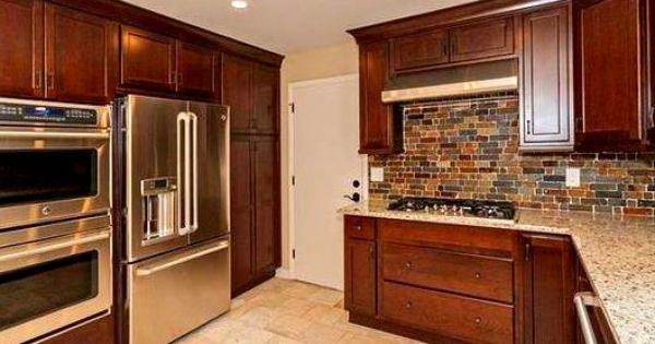 Best Shaker Heights Oh Kitchen Remodel Kraftmaid Kaffe Cherry 640 x 480