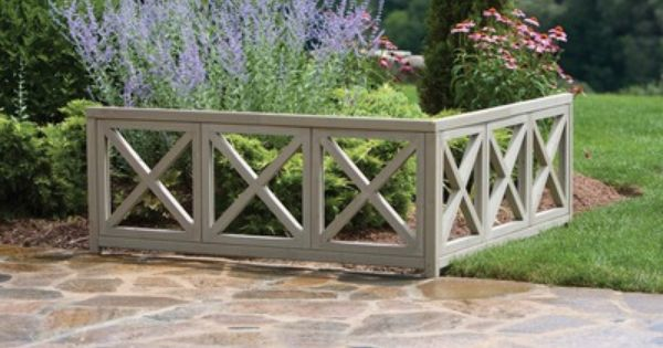 Yardistry Cedar Corner Accent Feature With Images Garden Wall