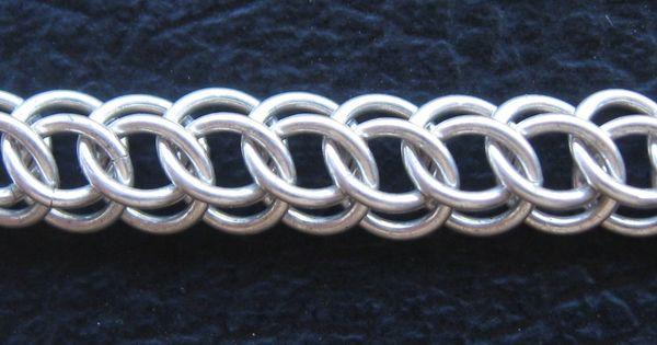 Half persian 3 in 1 tutorial chainmaille pinterest fabrication bijoux filets et cotte de - Fabrication cotte de maille ...