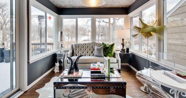 21 Awesome Sunroom Design Ideas