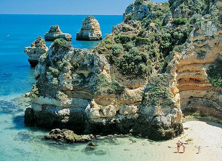 Honeymoon idea: Algarve, Portugal. Re-pin if you like. Via Inweddingdress.com honeymoon destination