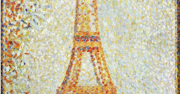 Teen Themes Pointalism Celebrity Portraits (Grades 9-12) Supporting Artist Georges Seurat.