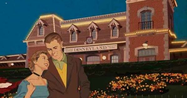 Vintage Disney Parks. This would be an epic date night!!!