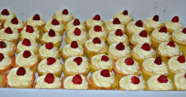 Lemon cupcakes, Raspberries and Lemon on Pinterest