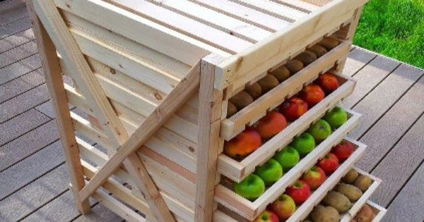 Garden Crops: Cold Storage Ideas & Root Cellar Tips : TipNut.com