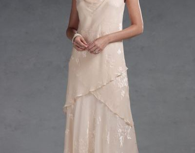Bridal mother in law dresses silk burnout capri by mon for Mother in law wedding dresses
