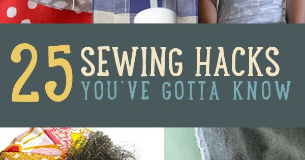Looking for sewing hacks plus the best sewing tips & tricks? These