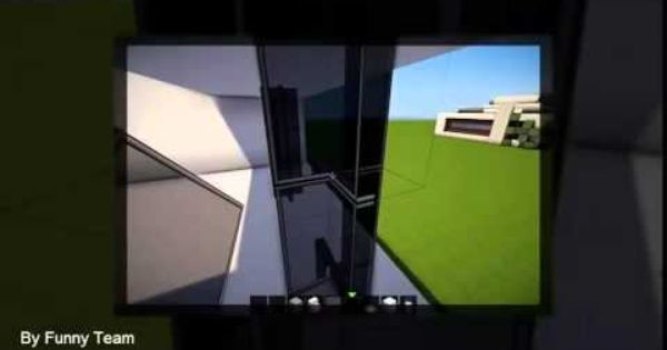 how to build a easy modern house in minecraft pe