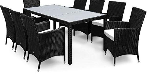 17tlg PolyRattan Sitzgruppe Gartenmöbel Gartenset Lounge Rattan - gartenmobel rattan sitzgruppe