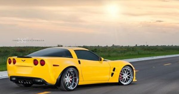 Chevy Corvette Z06 With 360 Forged Mesh 8s Chevy Corvette Z06 360forgedmesh8s 360forged Forged Mesh8s Mesh Belle Voiture Voiture