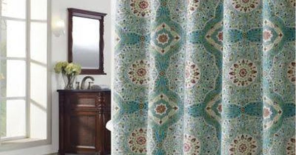 Richloom Home Fashions Mandala Mandala Shower Curtain