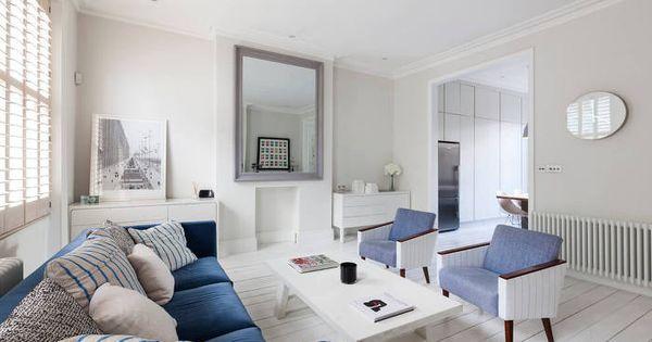 여름에 어울리는 깨끗한 아파트 인테리어 in 런던 :: FabD(팹디 ...
