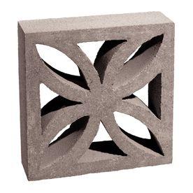 Shop Basalite Decorative Concrete Blocks Common 4 In X 12 In X