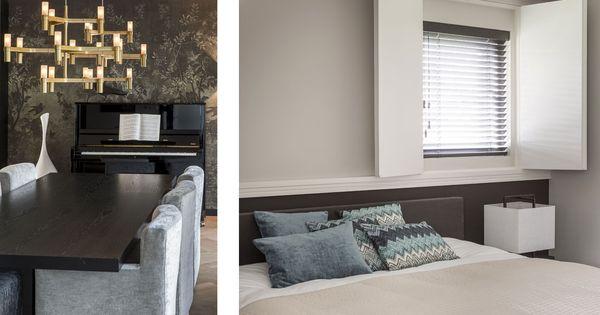 Interieurontwerp choc studio residenti le opdracht in de regio haarlem realisatie moderne - Moderne woonkamer eetkamer ...