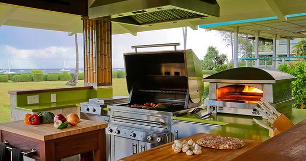 a kalamazoo outdoor gourmet kitchen in hanalei hawaii On kitchen 600 kalamazoo