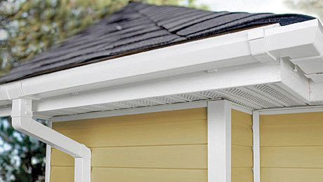 What S The Difference Gutters Building A House Home Building Tips Roof Sheathing