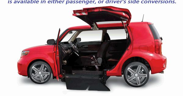 Side Entry Version Of The Scion Xb Xs Able Wheelchair Car