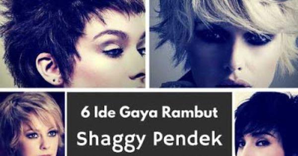 6 Ide Gaya Rambut Shaggy Pendek Wanita 2016 Gaya Rambut Ide Gaya Rambut Wanita