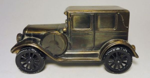 Banthrico Replica 1924 Ford Model T Vintage Coin Bank Ford