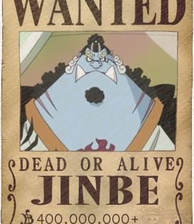Jinbe Poster One Piece Drawing One Piece Manga One Piece Bounties