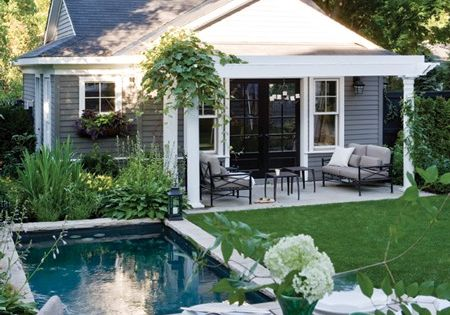 Pool house / guest house