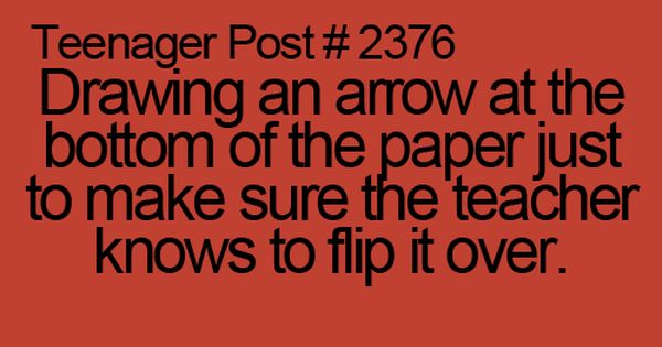 omg i always did this, and it was like, well obviously there