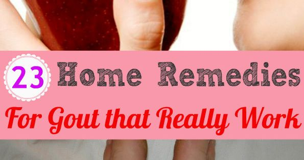 23 Home Remedies For Gout That Really Work Health Tips