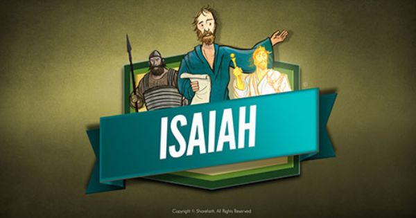 the prophet isaiah kids bible lesson this sharefaith kids. Black Bedroom Furniture Sets. Home Design Ideas