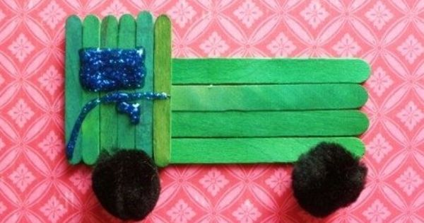 Image Result For Art And Craft Using Ice Sticks