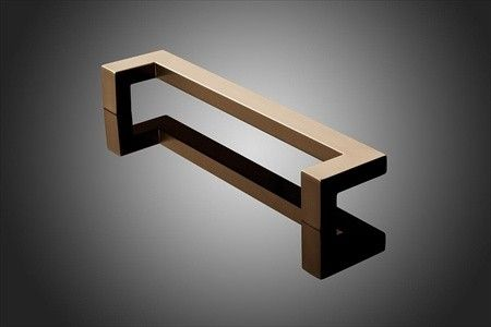 Forms Surfaces 1521 Series 12 Cc Rectangular Offset Door Pull Door Pulls Rectangular Door Handles
