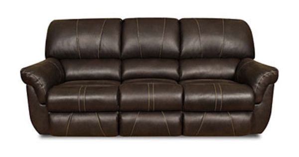 Simmons Bucaneer Cocoa Reclining Sofa At Big Lots Going On Layaway For Sure Tv Is Next