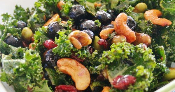 Superfood salad, Salads and Edamame on Pinterest