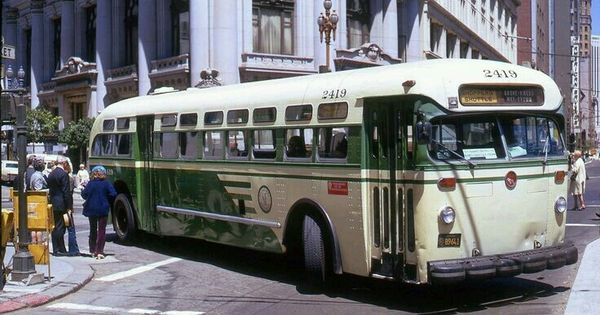 56 Best Buses Images On Pinterest: SF MUNI MACK BUS.