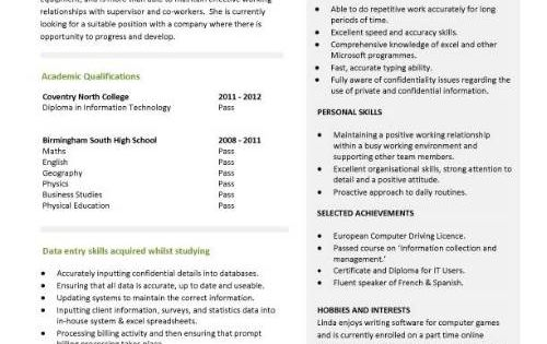 entry level resume qualifications 927 http