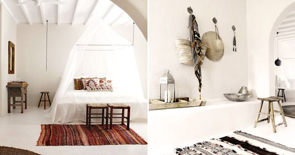 Boutique Hotels Mykonos And Rustic Wood Furniture On Pinterest