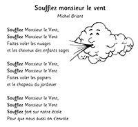 Soufflez Monsieur Le Vent Michel Briant Paroles