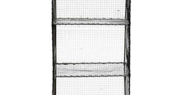 etag re grillag e en m tal grillag zinc bloomingville tendance grillage pinterest m taux. Black Bedroom Furniture Sets. Home Design Ideas