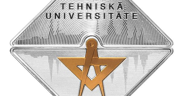 Coin Dedicated To Riga Technical University Technical University Riga University