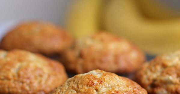 Everyday Banana Muffins - just made these and they are SO good.