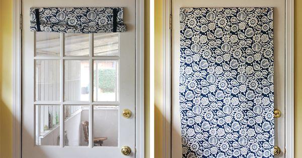 Front door curtain cortina ventana de cocina vidrio - Cortinas para puertas de cristal ...