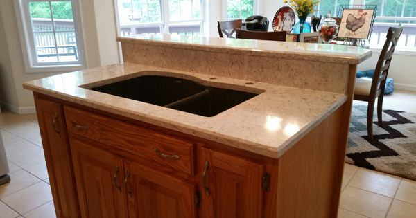 Giallo Fiesta Granite Kitchen Countertop Install For The Archuleta Family Knoxville 39 S Stone